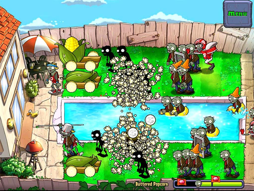 zombie pflanzen spiele