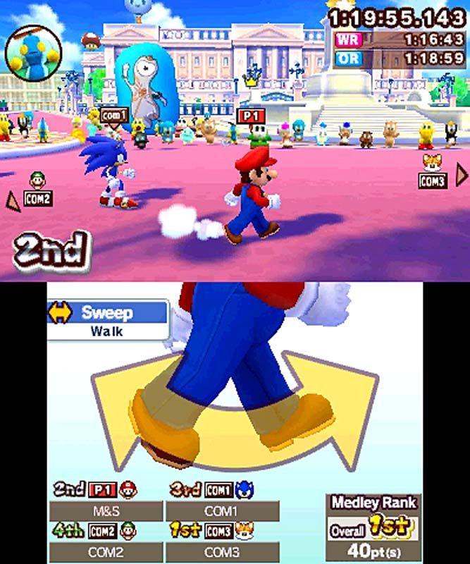 Mario Sonic Bei Den Olympischen Spielen London 2012 Games Guide
