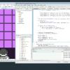 Notchs Live-Coding für Ludum Dare