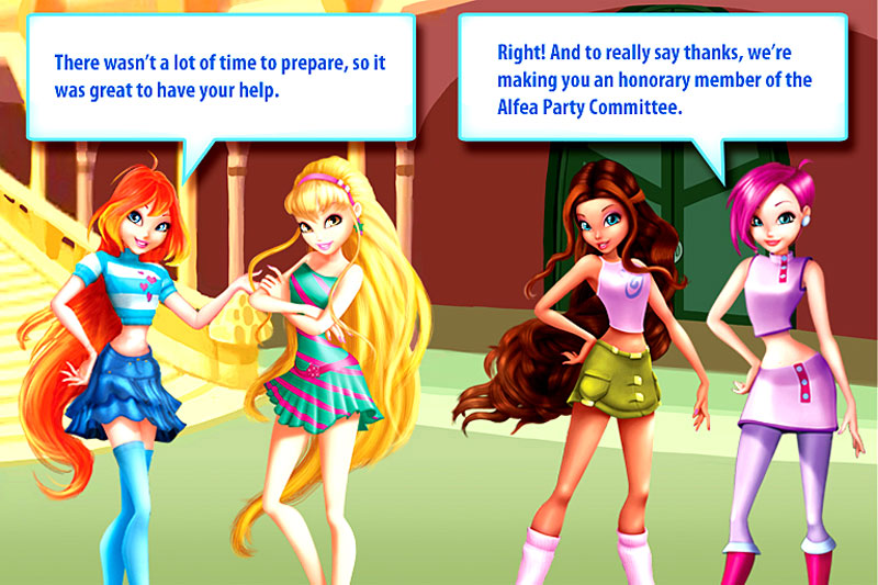 Winx Club Fairies Games download free software - backupengine