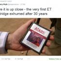 E.T. erfolgreich aus der Wüste gegraben