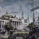 """Reichstag im Stil von """"The Order: 1886"""""""