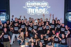 Das Team von WorldofNerds auf der gamescom 2014