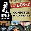 Super Rabatte bei Headup Games