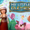 Großer Kalender mit Geschenken zur Farmies-Feier