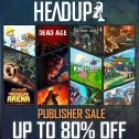 Sparwoche bei Headup Games